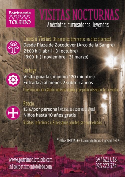 folleto noct Patrimonio Toledo